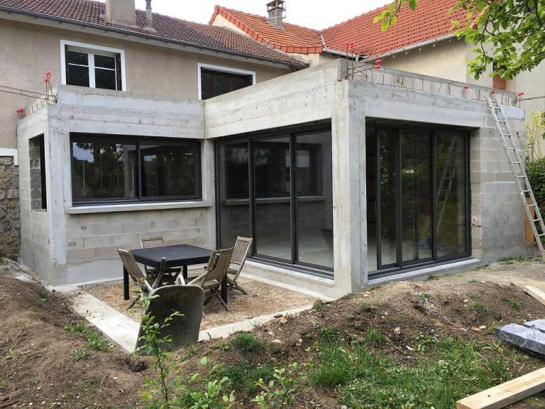 Extension et agrandissement de maison toulouse 31 - Idee pour agrandir sa maison ...